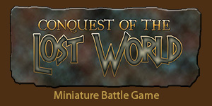 Button for Conquest of the Lost World game