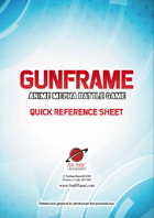 Thumbnail cover of GunFrame quick reference sheets